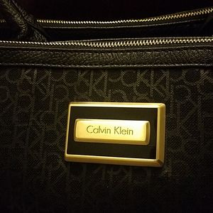 *Used* Calvin Klein Black Tote Bag